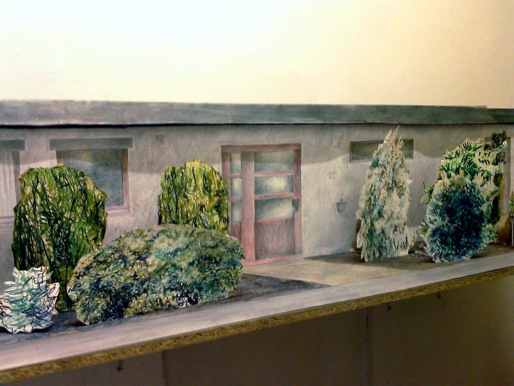 """""""INSITE – OUTSIDE"""" von Laila Unger, 2011, LINDA kunstverein"""