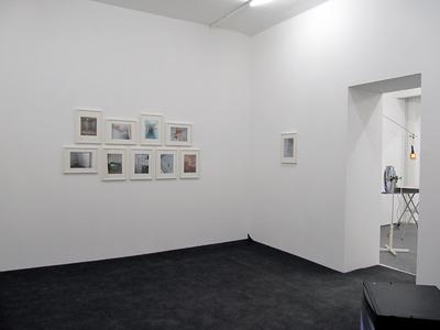 Aufbauansicht: Collagen bei WEISSER SCHIMMEL, Phoenixhallen, Hamburg, 2010