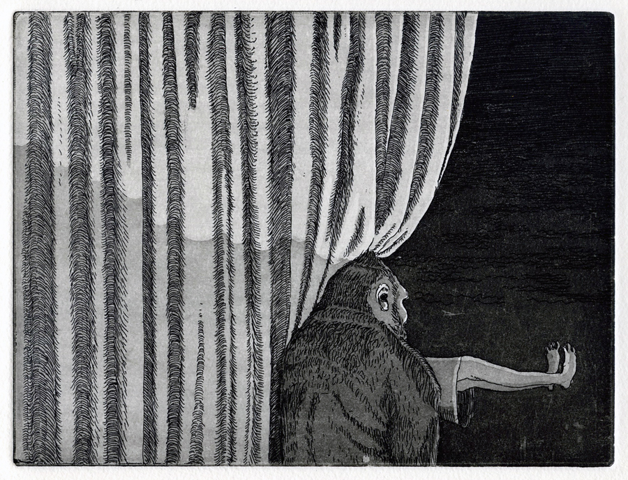 radierung / aquatinta (auflage 1/20), 2012