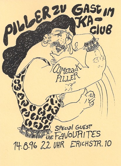 Comeback Piller – zu Gast im Ka-Club, 14.8.96
