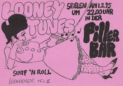 Looney Tunes in der Pillerbar, 1.2.95