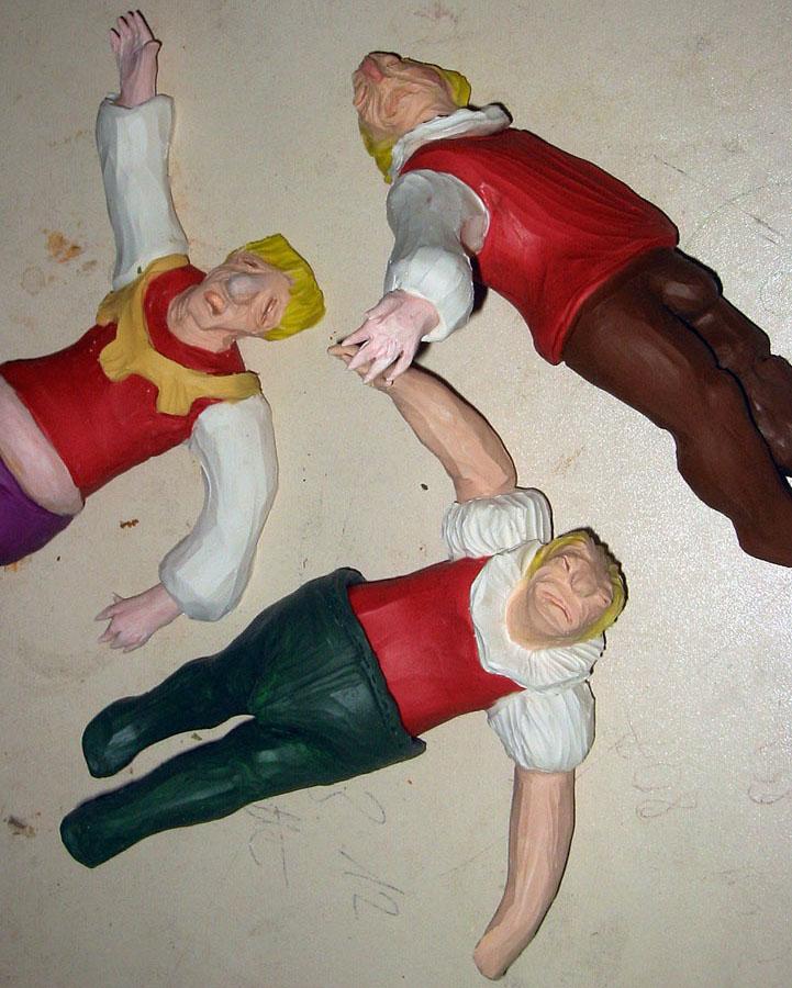 Tote Opernstars (ehemals Tiefer Fall), 2001
