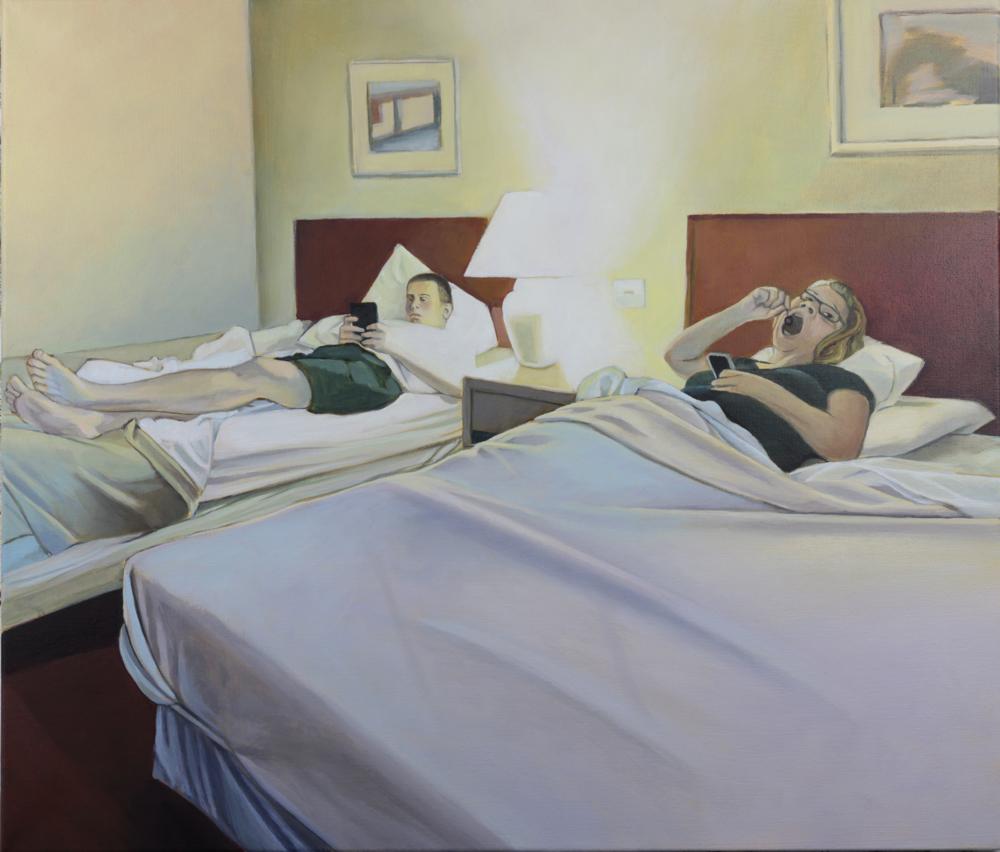 motel II, 2015, öl auf leinwand, 60 x 70 cm