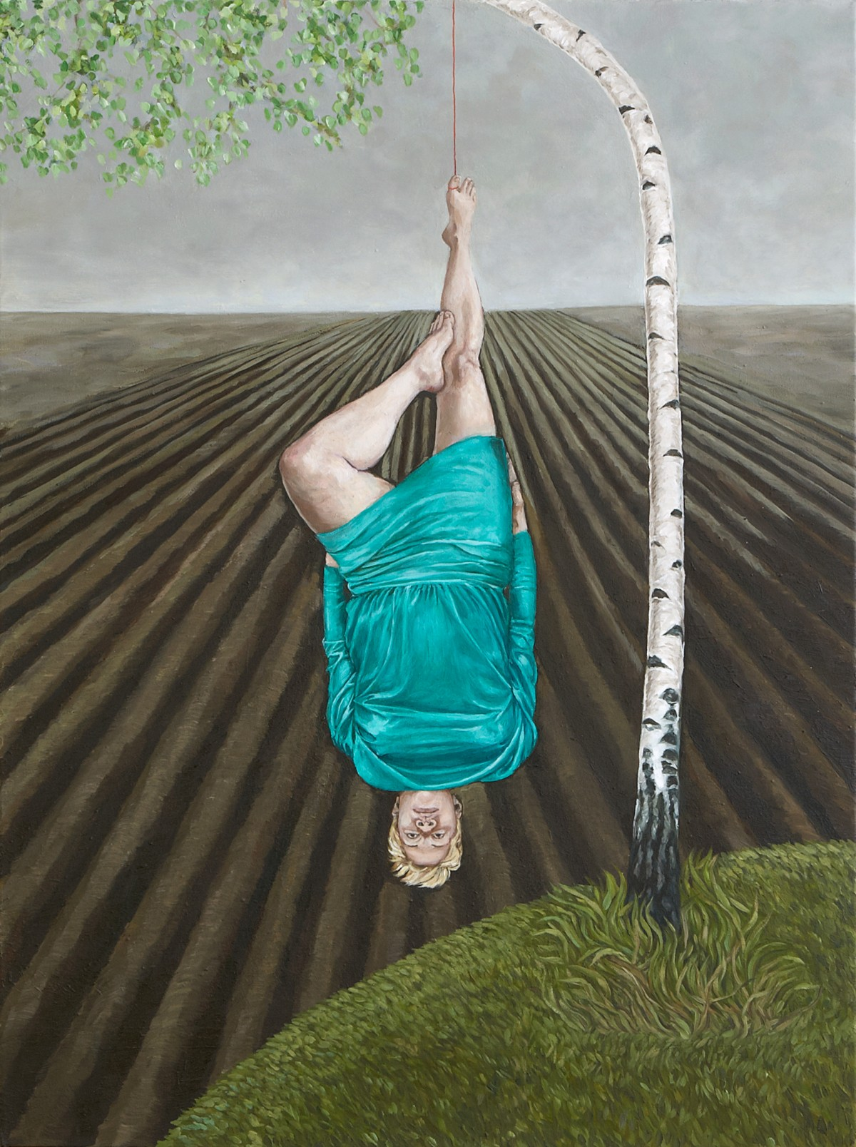 Das Kleid, 2011, Öl auf Leinwand