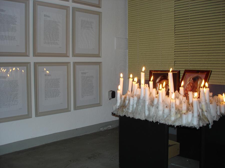 Steffi & Arndt - Installationsansicht, 2005