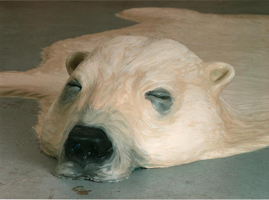 Eisbär, 1997 (Detail)