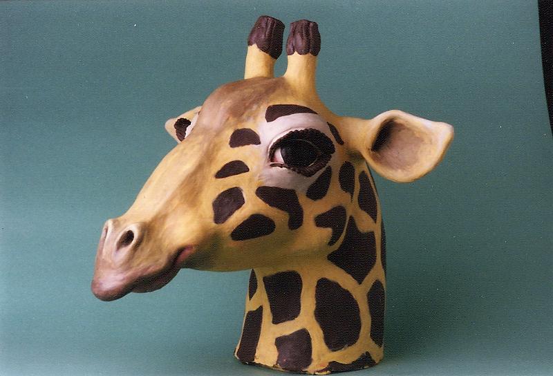 Fotomaterial für Buttons aus o.T. (Giraffe), 1996