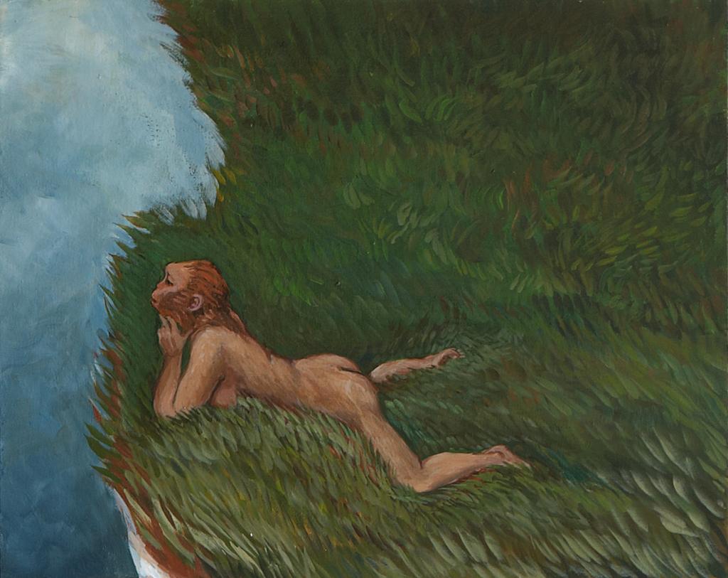 Urfrauen I-XIV, 2011, Acryl auf Leinwand