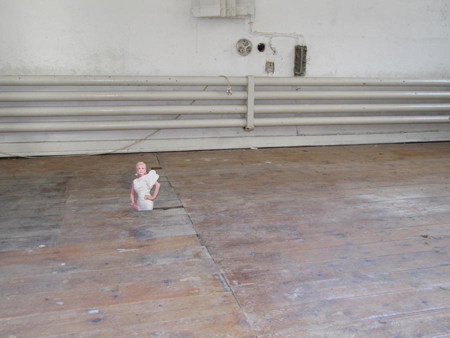 Sie hatte nichts zu verbergen, 2009, C-Print