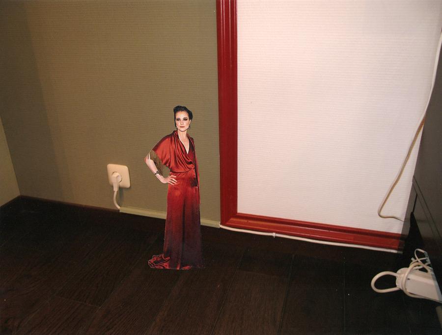Hingucker des Abends, 2009, Collage
