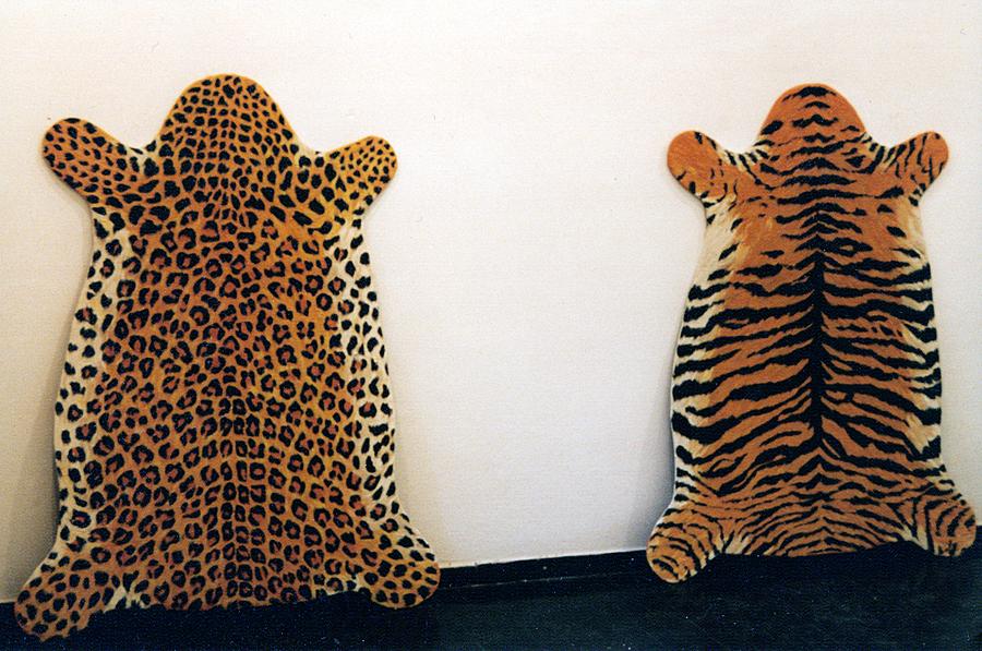 Tiger und Leopard, 1997. hier: galeria skuc, Lubljana, Slovenien