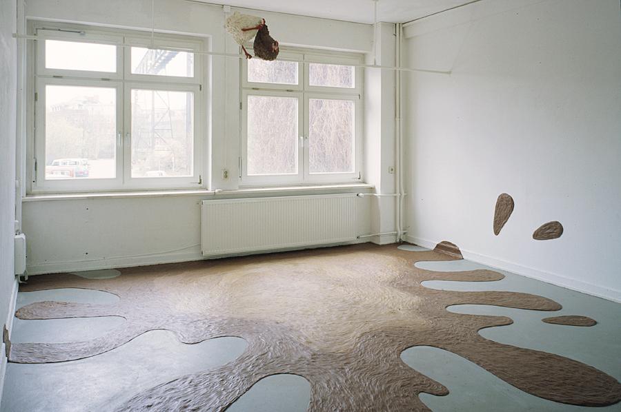 """Schön, total schön, 2000. Ausstellung """"Vorkultur"""", KX auf Kampnagel, Hamburg"""
