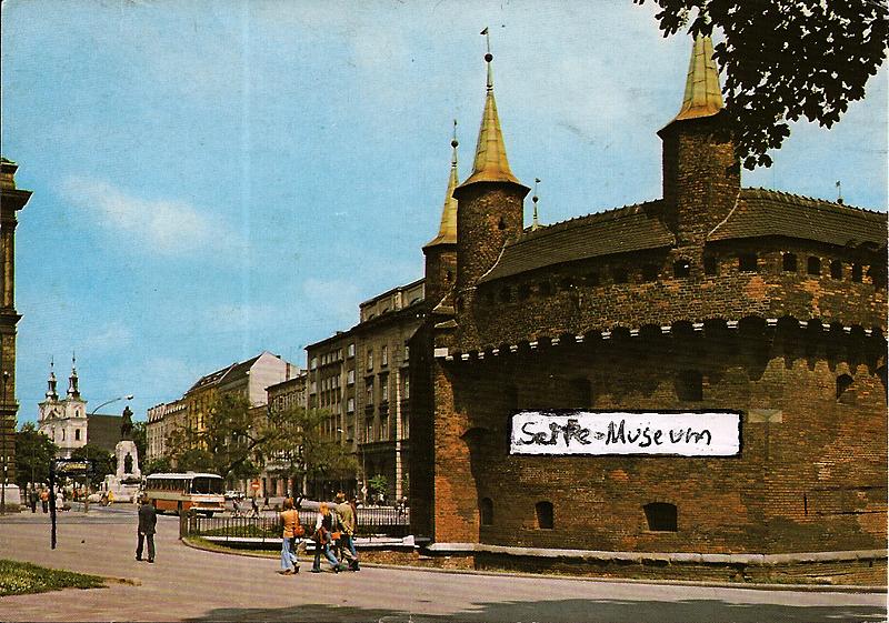 Postkarte von Tim Thyzel aus Krakau 1994