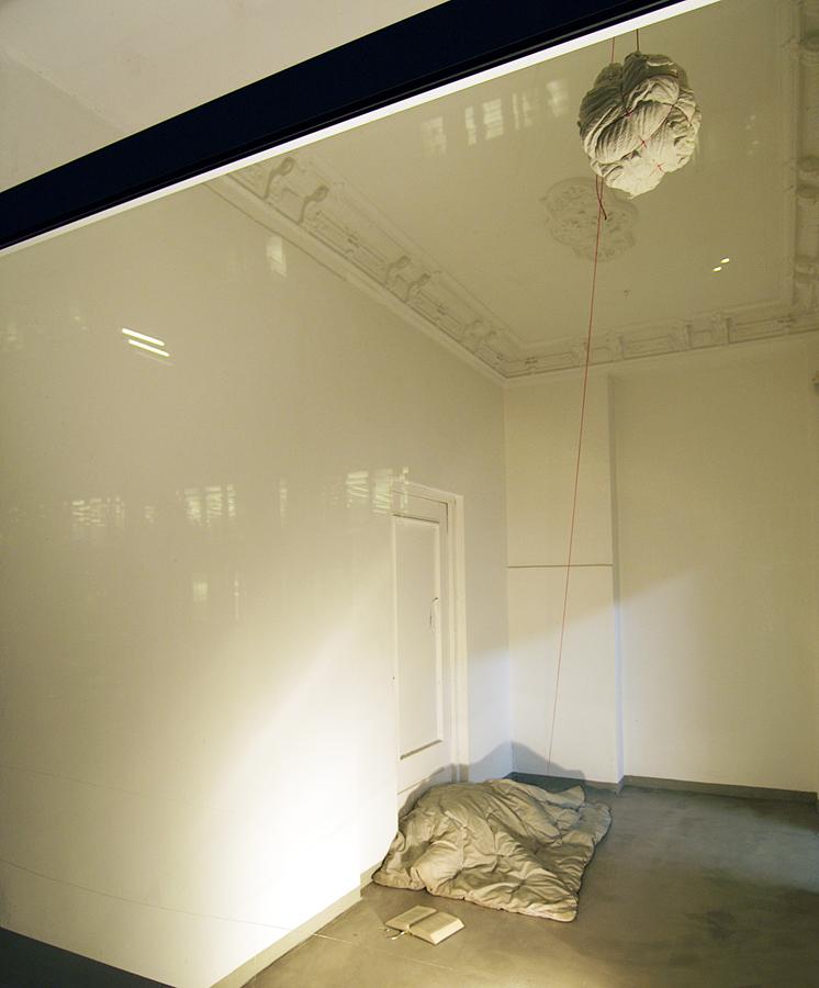 Mann von Welt, Installationsansicht 2004, Hamburg