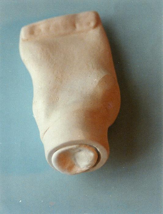 O.T. 1993, Modelliermasse und Zahnpasta